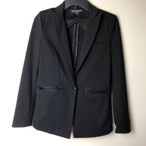 CENTRAL-PARK WEST Black Blazer single button XS